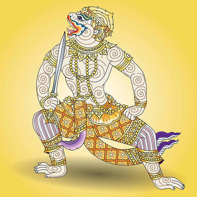 Immagine dio Hanuman